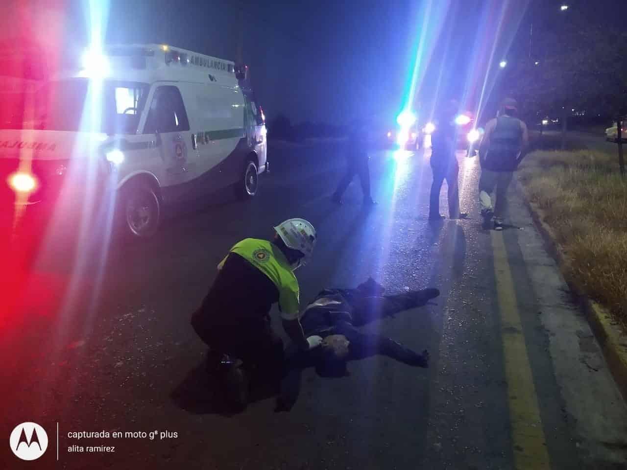 Un peatón, al parecer guardia de seguridad, falleció ayer luego de ser atropellado