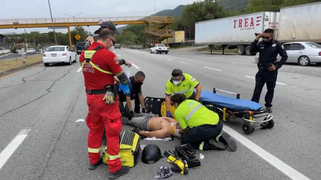 Dos personas lesionadas fue el saldo que dejó un choque por alcance