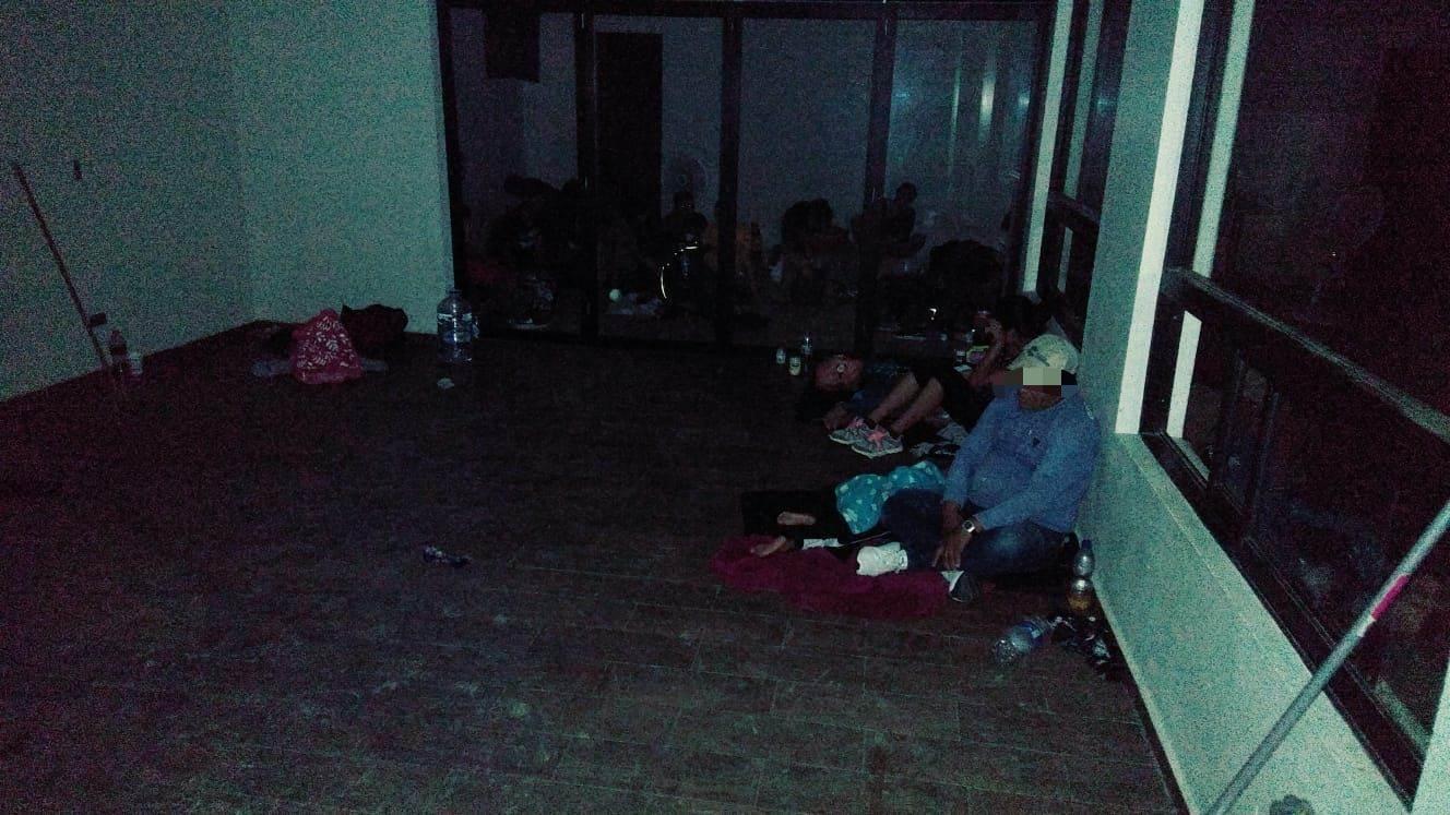 Hallan grupo de 50 centroamericanos que se encontraban en un domicilio de la Colonia La Escondida