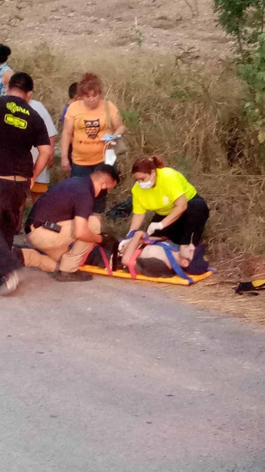 Los hechos dejaron un saldo de cinco personas lesionadas y otros con golpes leves