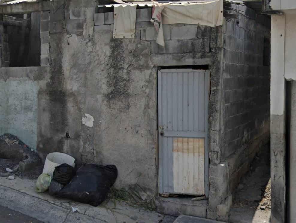 La casa de seguridad ubicada en la colonia San Pedro 400, permanece sin vigilancia