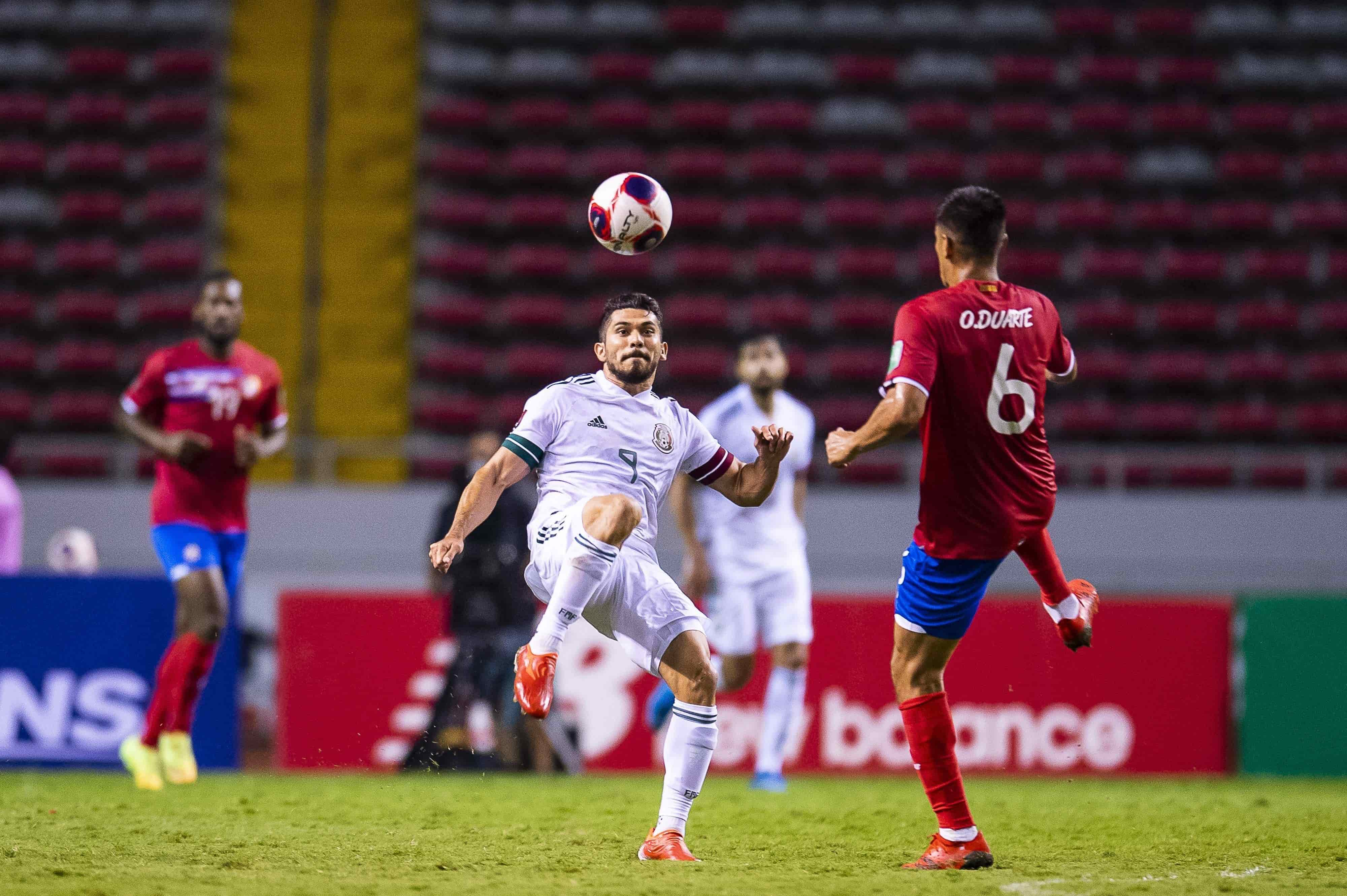 Vence México 1-0 a Costa Rica