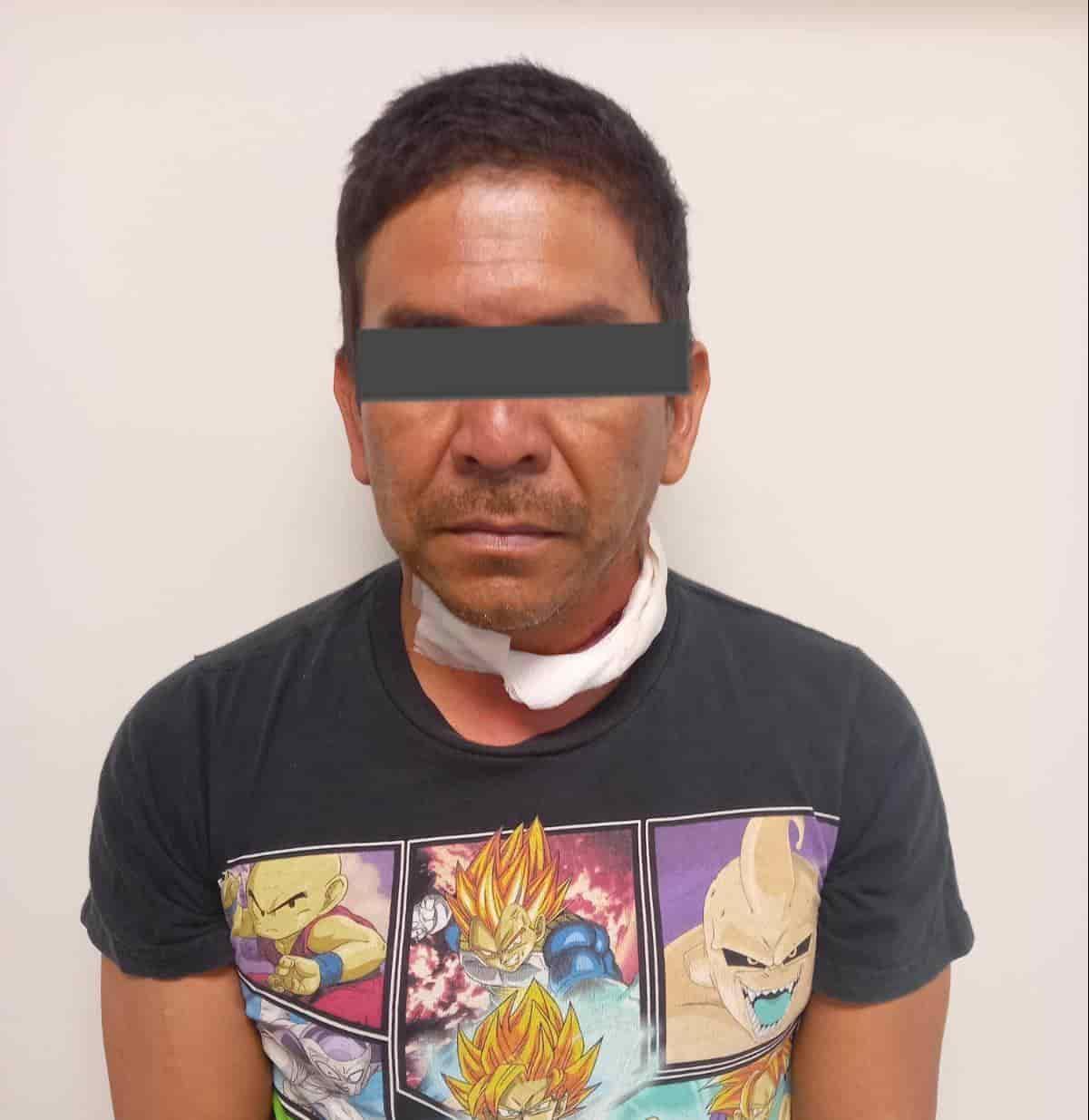 Arrestan al presunto responsable de un feminicidio registrado la tarde del lunes pasado