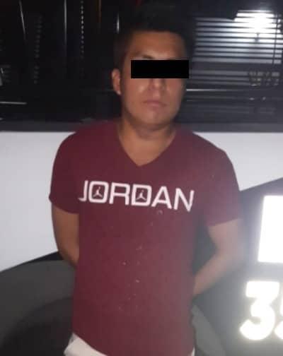 Agredió a golpes a su esposa, y fue detenido