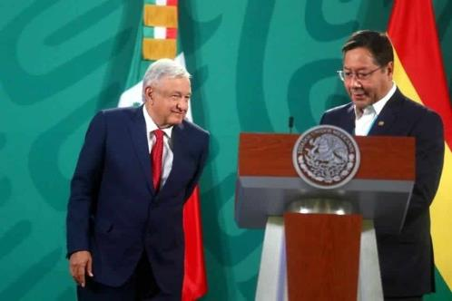 Respaldará Arce a AMLO en batalla contra OEA
