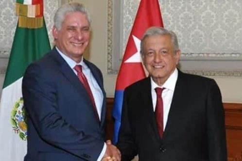 Presidente de Cuba dará mensaje en México