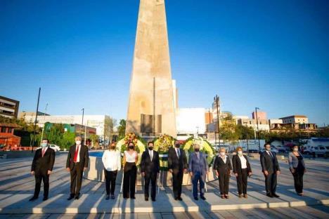 Conmemoran 425 aniversario de la fundación de Monterrey