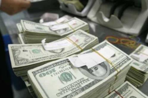 Reservas internacionales bajan 136 mdd