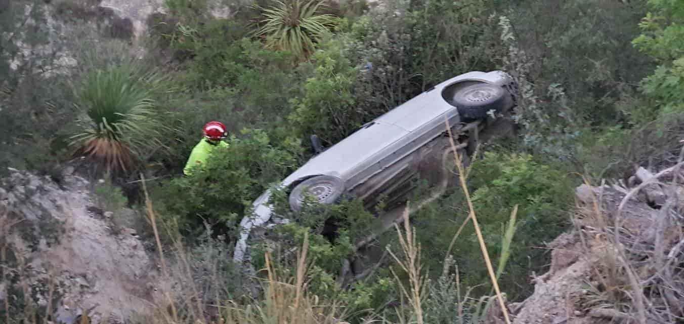 El conductor terminó con lesiones de consideración