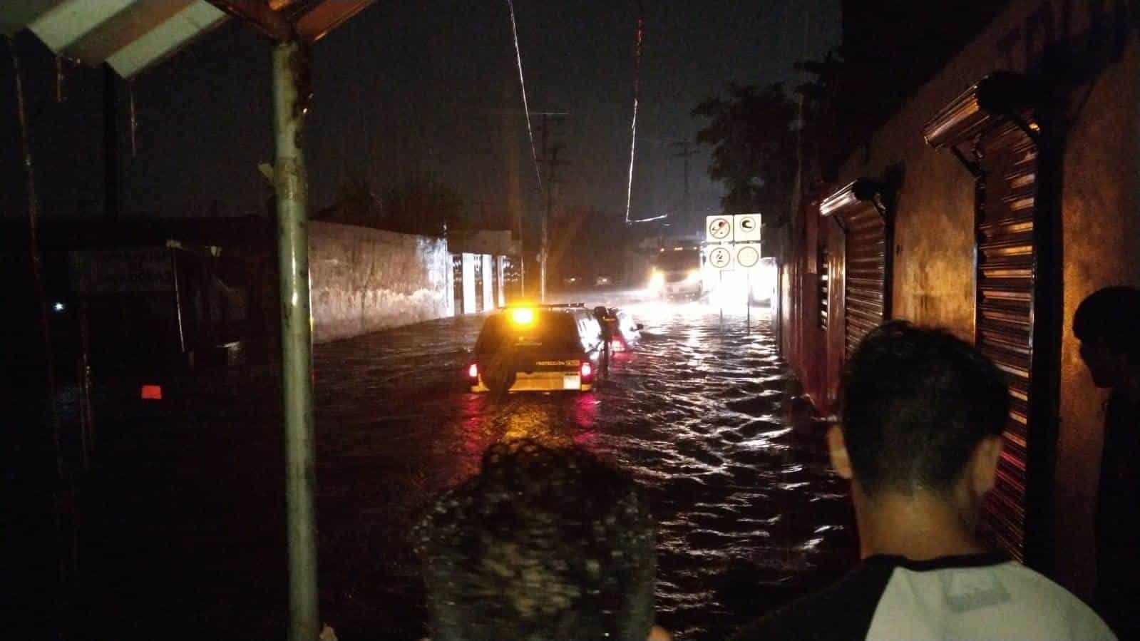 Protección Civil Nuevo León llevó a cabo un despliegue coordinada en el estado por lo que fue el primer sistema frontal de la temporada.