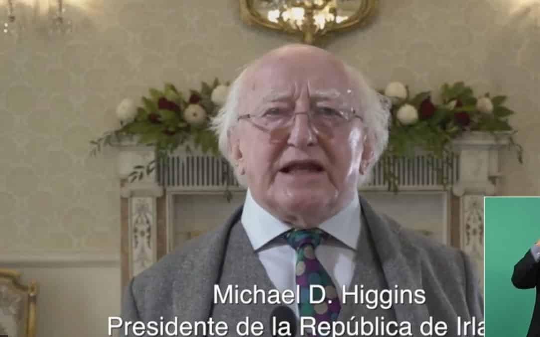 Presidente de Irlanda felicita a México