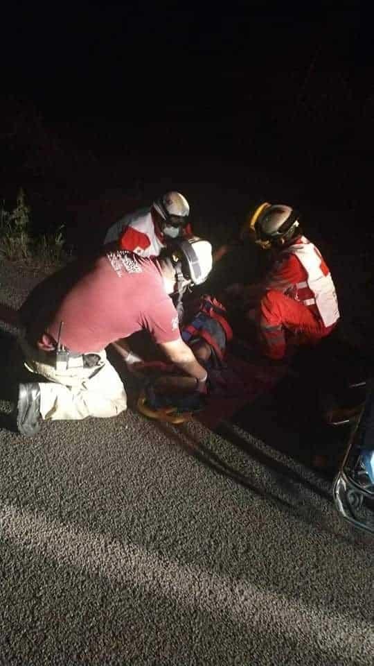 Indagan un intento de homicidio, contra un ciclista que arrollado en forma intencional