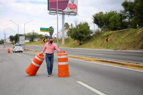 Tramo de Morones Prieto fue abierto a la circulación