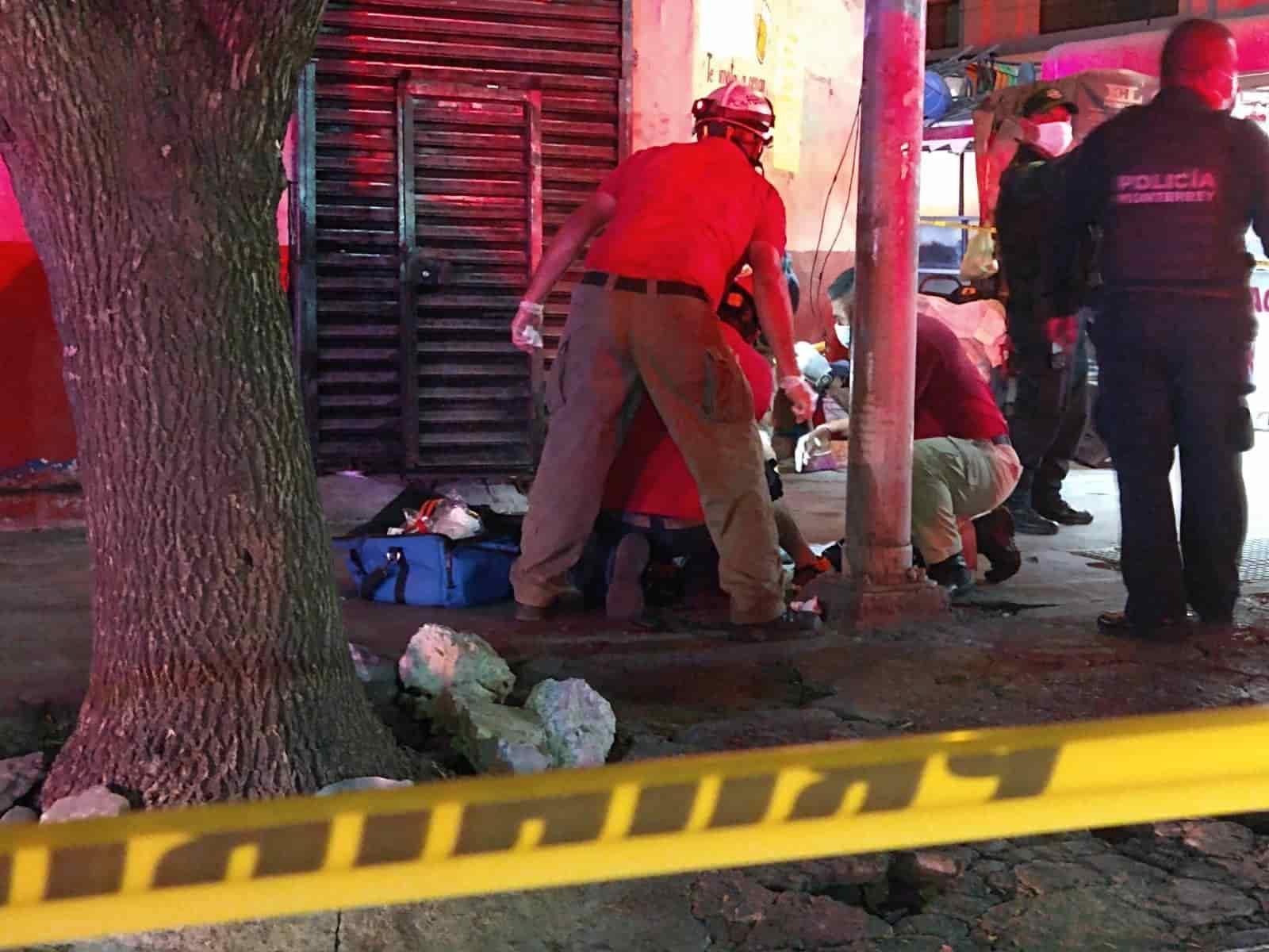 Un hombre fue baleado en la cara y el agresor logró darse a la fuga