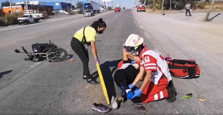 Una mujer terminò con lesiones de consideración, después de estrellarse