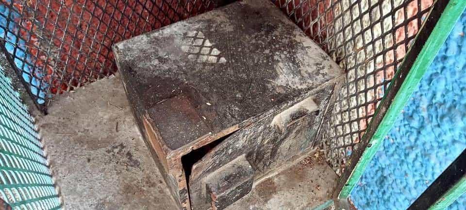 Indagan un robo cometido en una capilla de la Virgen María