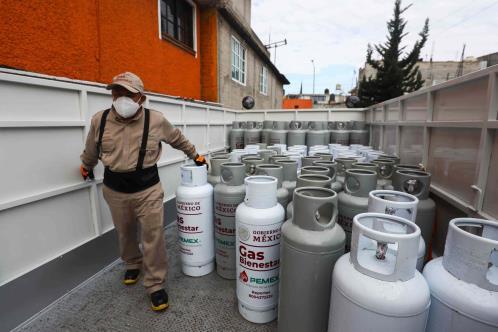 Baja gas LP en CDMX, Edomex y Veracruz